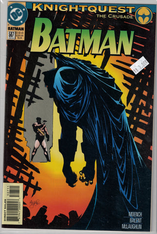 Batman Issue # 507 DC Comics $3.00