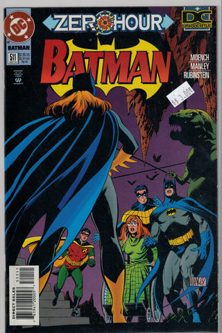 Batman Issue # 511 DC Comics $3.00