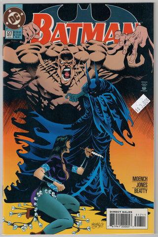 Batman Issue # 517 DC Comics $3.00