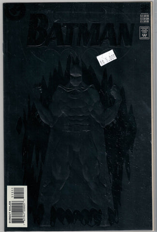 Batman Issue # 515 (Black Embossed Cover) DC Comics $5.00