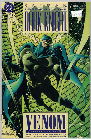 Batman Legends of the Dark Knight Issue #20 DC Comics $5.00