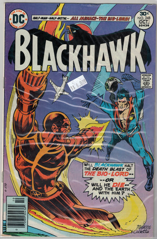 Blackhawk Issue #248 DC Comics $6.00