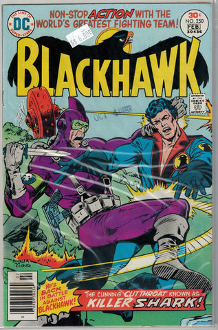 Blackhawk Issue #250 DC Comics $6.00