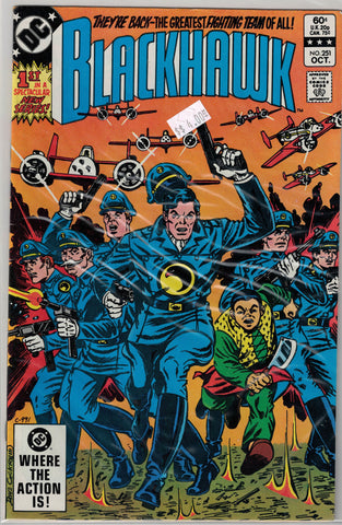 Blackhawk Issue #251 DC Comics $4.00