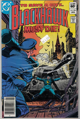 Blackhawk Issue #254 DC Comics $4.00