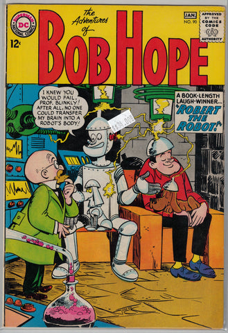 Adventures of Bob Hope # 90 DC Comics $34.00