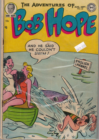 Adventures of Bob Hope #22 (Aug-Sep 1953) DC Comics $40.00