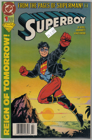 Superboy Third Series Issue # 1 DC Comics $3.00