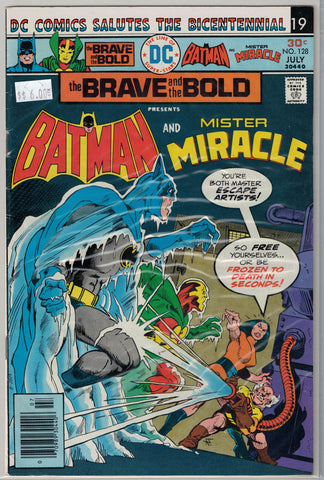 Brave and the Bold Issue #128 DC Comics $6.00