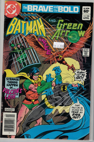 Brave and the Bold Issue #185 DC Comics $6.00