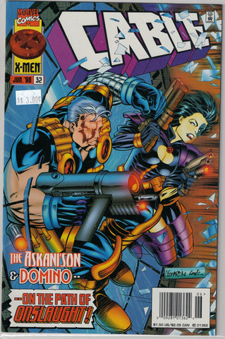 Cable Issue #32 Marvel Comics $3.00