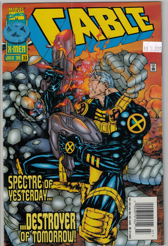 Cable Issue #33 Marvel Comics $3.00