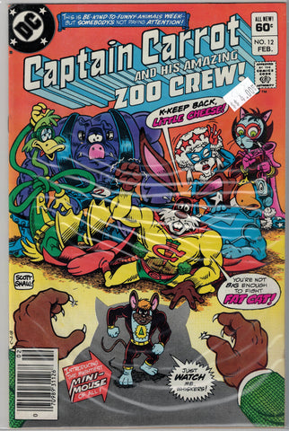 Captain Carrot and His Amazing Zoo Crew Issue #12 DC Comics $4.00