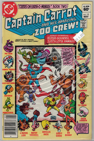 Captain Carrot and His Amazing Zoo Crew Issue #15 DC Comics $4.00