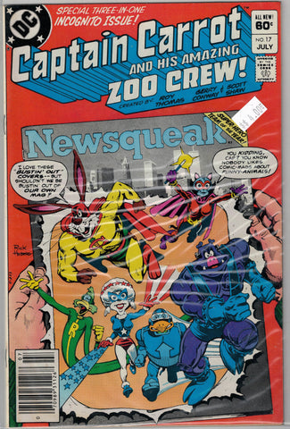 Captain Carrot and His Amazing Zoo Crew Issue #17 DC Comics $4.00