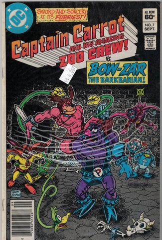 Captain Carrot and His Amazing Zoo Crew Issue # 7 DC Comics $4.00
