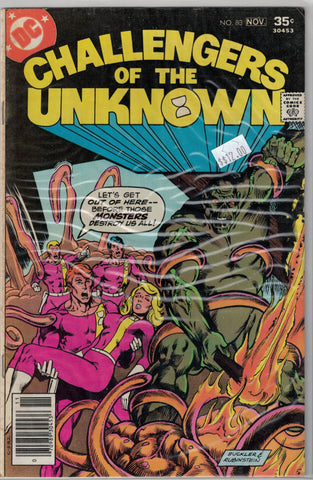 Challengers of the Unknown Issue #83 DC Comics $12.00