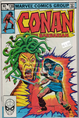 Conan The Barbarian Issue #139 Marvel Comics $4.00