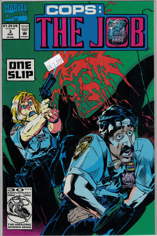 Cops: The Job Issue # 3 Marvel Comics $3.00
