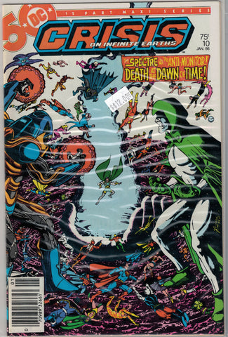 Crisis on Infinite Earths Issue #10 DC Comics $12.00