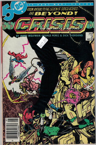 Crisis on Infinite Earths Issue # 2 DC Comics $12.00
