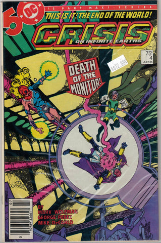 Crisis on Infinite Earths Issue # 4 DC Comics $12.00