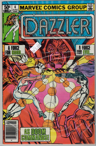 Dazzler Issue # 4 Marvel Comics  $3.00