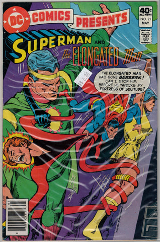 DC Comics Presents Issue # 21  $6.00