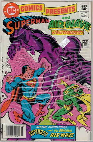 DC Comics Presents Issue # 55  $4.00