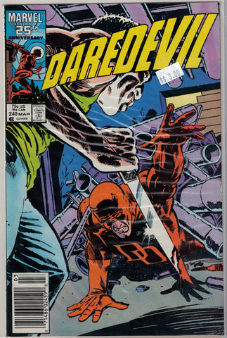 Daredevil Issue # 240 Marvel Comics $3.00