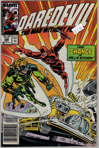 Daredevil Issue # 246 Marvel Comics $3.00