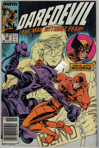 Daredevil Issue # 248 Marvel Comics $6.00