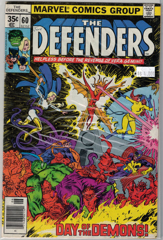 Defenders Issue #  60 Marvel Comics $4.00