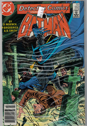 Detective (Batman) Issue # 552 DC Comics $6.00