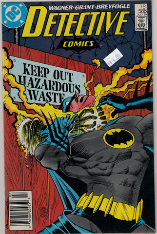 Detective (Batman) Issue # 588 DC Comics $4.00