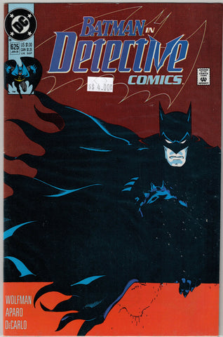 Detective (Batman) Issue # 625 DC Comics $4.00