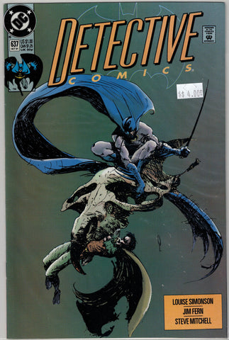 Detective (Batman) Issue # 637 DC Comics $4.00