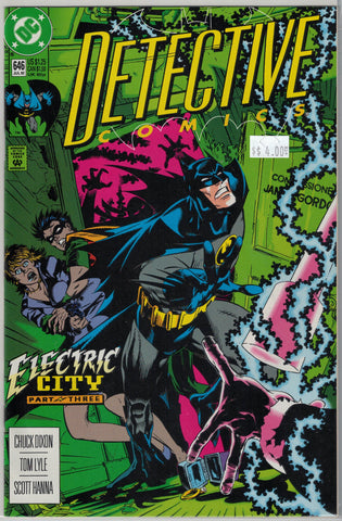 Detective (Batman) Issue # 646 DC Comics $4.00