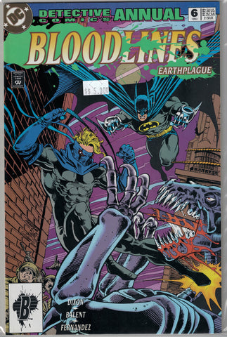 Detective Comics (Batman) Annual Issue 6 DC Comics $5.00