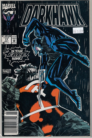 Darkhawk Issue # 17 Marvel Comics  $3.00