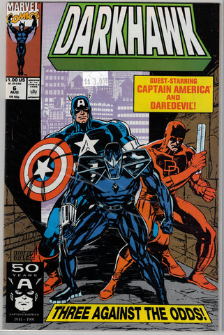 Darkhawk Issue #  6 Marvel Comics  $3.00