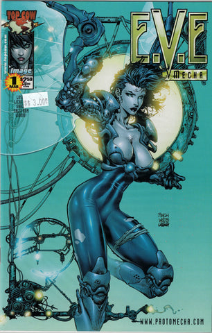 EVE Proto Mecha Issue 1 (Light Blue Cover) Image/Top Cow Comics  $3.00