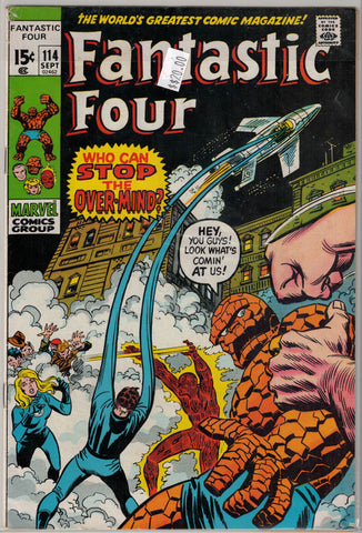 Fantastic Four Issue # 114 Marvel Comics $20.00