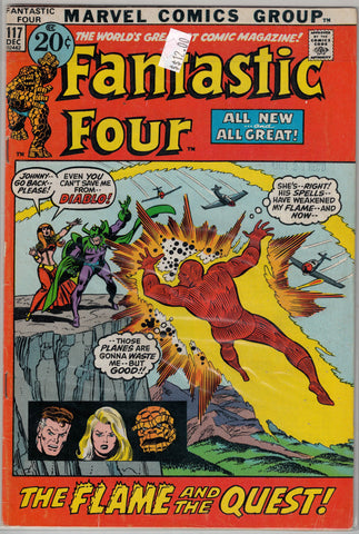 Fantastic Four Issue # 117 Marvel Comics $12.00