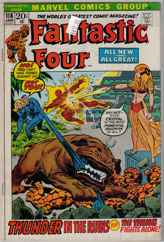 Fantastic Four Issue # 118 Marvel Comics $12.00