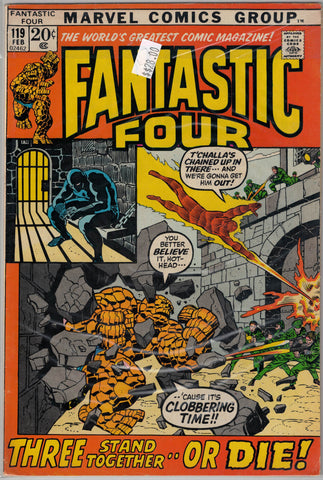 Fantastic Four Issue # 119 Marvel Comics $28.00