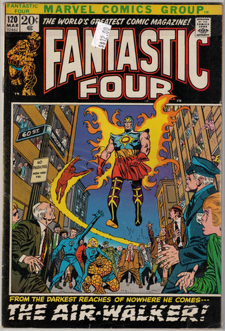 Fantastic Four Issue # 120 Marvel Comics $12.00