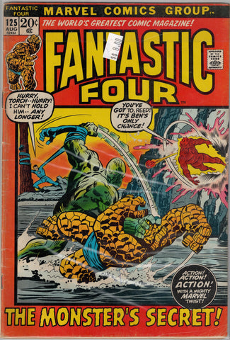Fantastic Four Issue # 125 Marvel Comics  $8.00