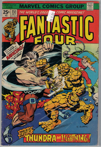 Fantastic Four Issue # 151 Marvel Comics  $9.00