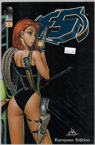 F5 Image Comics Issue 1 European Edition (Blue Foil On Cover) $20.00